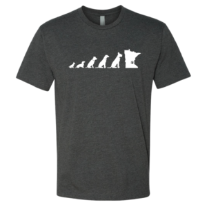 mn dog tshirt mens